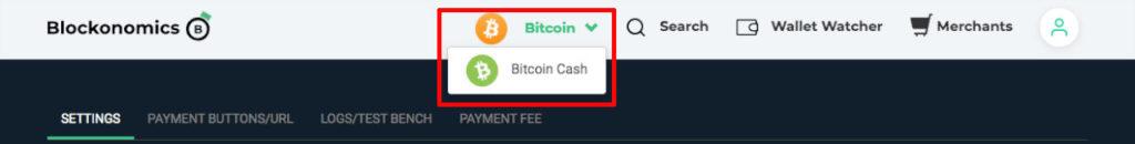 bitcoin to bitcoin cash switcher