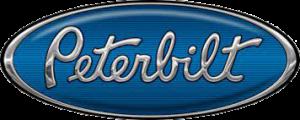 Peterbilt logo blue
